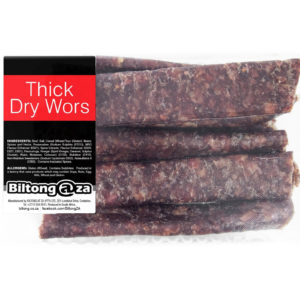 Thick Dry Wors – 350g