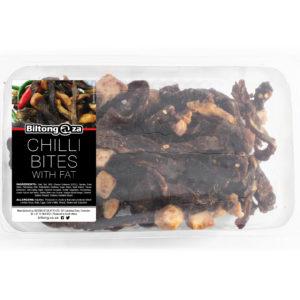 Chilli Bites with Fat - Biltong@ZA