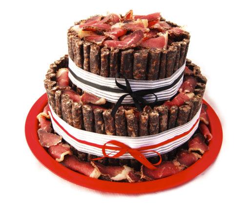 Biltong Cake - 2 Tier