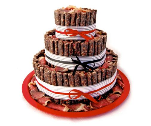 Biltong Cake - 3 Tier